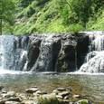 道央の渓 魚止めの滝